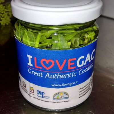 "Albanelle etichettate ""I Love GAC"""