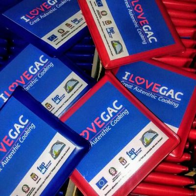 "Portacenere tascabili ""I Love GAC"""