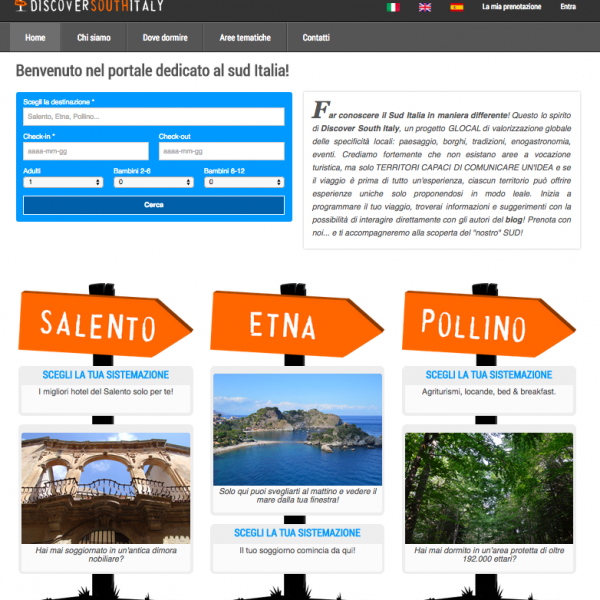 Homepage Discover South Italy