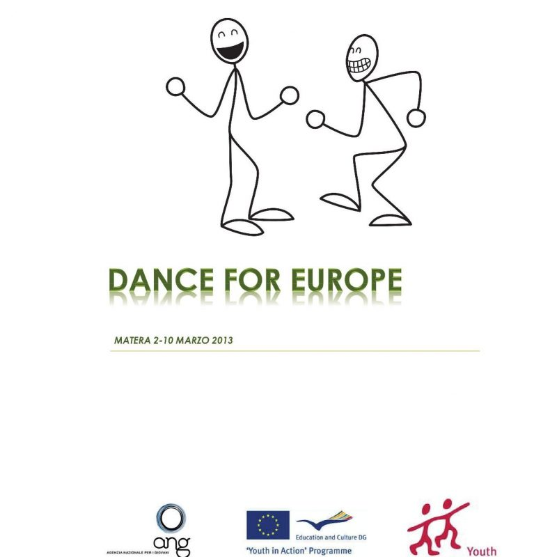 "Progetto ""Dance for Europe"" - Programma Youth in Action"