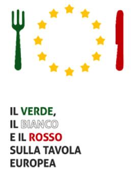 Il verde, il bianco e il rosso sulla tavola europea