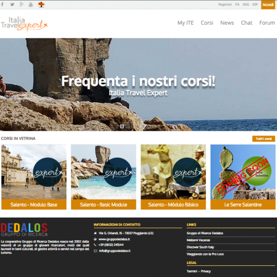 "Homepage ""Italia Travel Expert"""